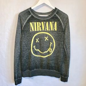 Retro NIRVANA Long Sleeve Tee